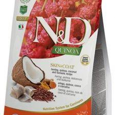 N&D Grain Free Cat Adult Quinoa Skin&Coat Herring & Coconut 0,3 kg