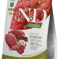 N&D Grain Free Cat Adult Quinoa Urinary Duck & Cranberry 0,3 kg