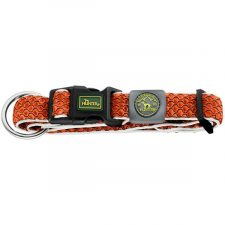 Obojek Hilo oranžový M-L,33-50 Hunter