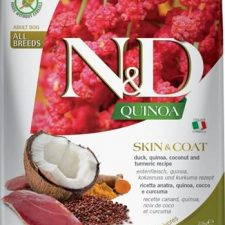 N&D Grain Free Dog Adult Quinoa Skin&Coat Duck & Coconut 2,5 kg