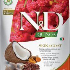 N&D Grain Free Dog Adult Quinoa Skin&Coat Herring & Coconut 2,5 kg