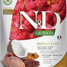 N&D Grain Free Dog Adult Quinoa Skin&Coat Quail & Coconut 2,5 kg