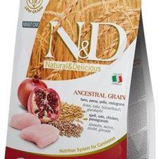 N&D Low Grain Cat Neutered Chicken & Pomegranate 5 kg