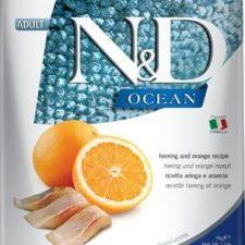 N&D OCEAN Cat Grain Free Adult Herring & Orange 5 kg