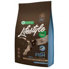 Nature's Protection Cat Dry LifeStyle GF Sterilised W.Fish 1,5 kg