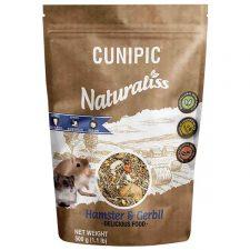 Cunipic Naturaliss Hamster & Gerbil - křeček a pískomil 500 g