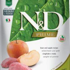 N&D PRIME Dog Grain Free Adult M/L Boar & Apple 2,5 kg