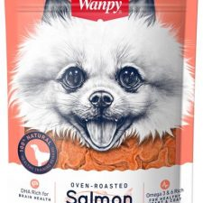 Wanpy Dog Salmon Fish Shape bites 100g