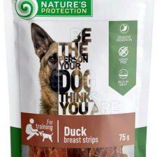 Nature's Protection Dog snack kachní proužky 75 g