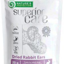 Nature's Protection Dog snack SC králičí uši 20 g