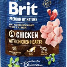 Brit Premium by Nature Dog konz. - Chicken with Hearts 800 g