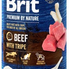 Brit Premium by Nature Dog konz. - Beef with Tripes 400 g