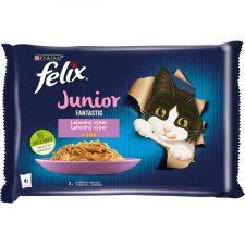 Felix cat kaps.-Fant.Multipack Junior v želé 4 x 85 g