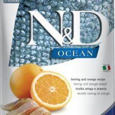 N&D OCEAN Dog Adult M/L Herring & Orange 12 kg