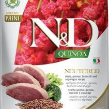 N&D Quinoa DOG Neut. Adult Mini Duck&Br. 2,5 kg
