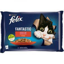 Felix cat kaps.-Fant.Multipack masový výběr v želé 4 x 85 g