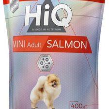 HiQ Dog Dry Adult Mini Salmon 400 g