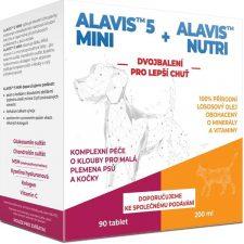 Dvojbalení Alavis 5 mini tbl 90+Alavis Nutri 200ml