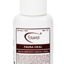 FAUNA ORAL olej proti zápachu z tlamy 20 ml