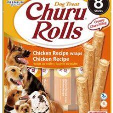 Churu Dog Rolls Chicken wraps Chicken 8x12g