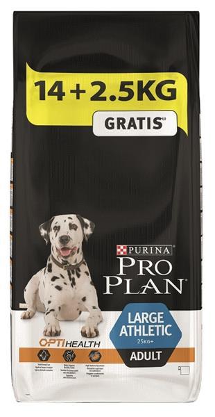 PRO PLAN Dog Adult Large Athletic 14+2,5 kg zdarma